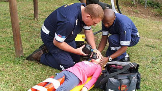 BLS Medical first response
