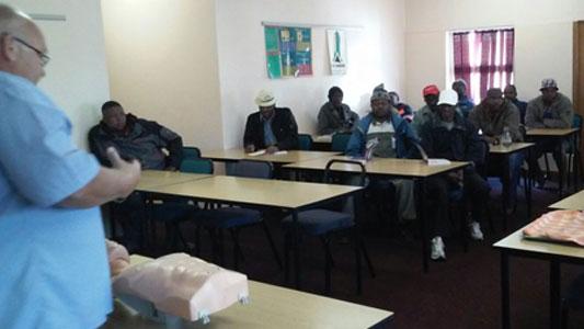 BLS Training class